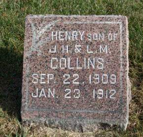 COLLINS, HENRY - Madison County, Iowa | HENRY COLLINS