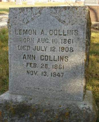 COLLINS, ANN - Madison County, Iowa | ANN COLLINS