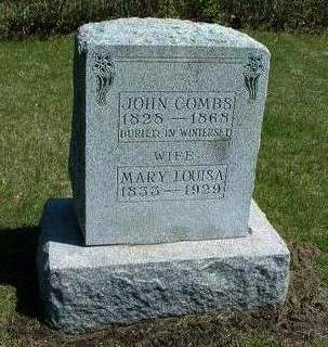 COMBS, MARY LOUISE - Madison County, Iowa | MARY LOUISE COMBS