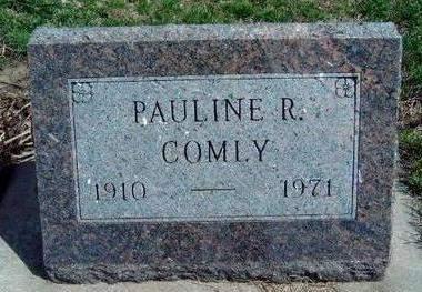 COMLY, PAULINE RUTH - Madison County, Iowa | PAULINE RUTH COMLY