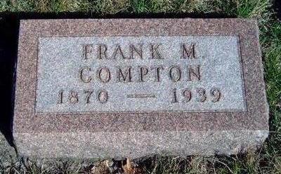 COMPTON, FRANK M. - Madison County, Iowa | FRANK M. COMPTON