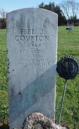 COMPTON, FRED JASHAW - Madison County, Iowa | FRED JASHAW COMPTON