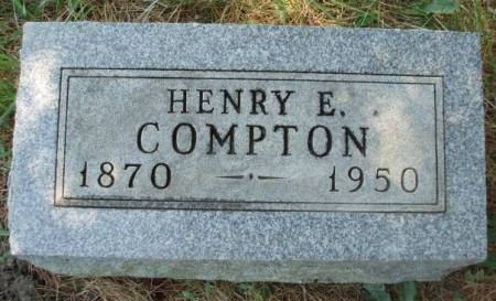 COMPTON, HENRY EVERETT - Madison County, Iowa | HENRY EVERETT COMPTON