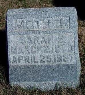 COMPTON, SARAH ELIZABETH - Madison County, Iowa   SARAH ELIZABETH COMPTON