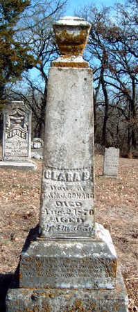 CONARD, CLARA BELLE - Madison County, Iowa | CLARA BELLE CONARD