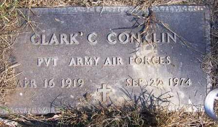 CONKLIN, CLARK CLINTON - Madison County, Iowa | CLARK CLINTON CONKLIN