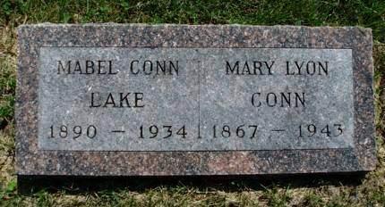 LAKE, MABEL - Madison County, Iowa   MABEL LAKE