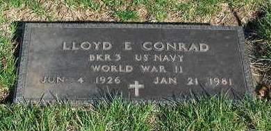 CONRAD, LLOYD ELMER - Madison County, Iowa | LLOYD ELMER CONRAD