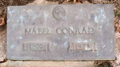 CONRAD, MABEL ALICE - Madison County, Iowa | MABEL ALICE CONRAD