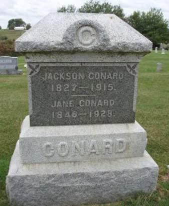 CONARD, SUBMITTA JANE - Madison County, Iowa | SUBMITTA JANE CONARD