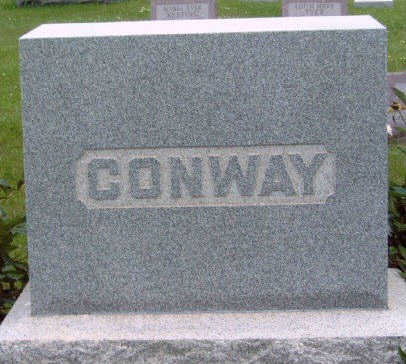 CONWAY, FAMILY STONE - Madison County, Iowa | FAMILY STONE CONWAY