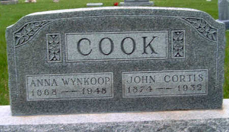 COOK, ANNA LAURA - Madison County, Iowa | ANNA LAURA COOK