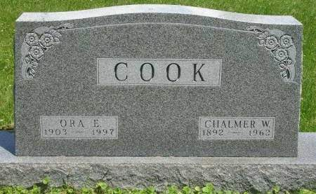 COOK, ORA ELSIE - Madison County, Iowa | ORA ELSIE COOK