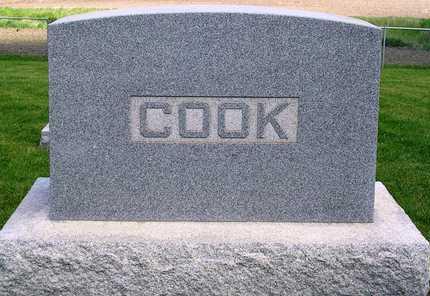 COOK, FAMILY HEADSTONE - Madison County, Iowa   FAMILY HEADSTONE COOK
