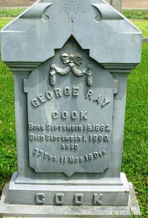COOK, GEORGE RAY - Madison County, Iowa | GEORGE RAY COOK