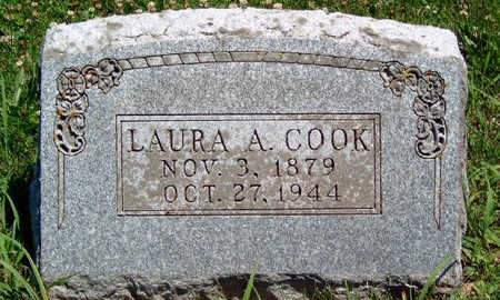 COOK, LAURA A - Madison County, Iowa   LAURA A COOK