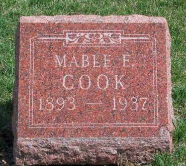COOK, MABLE EUNICE - Madison County, Iowa | MABLE EUNICE COOK
