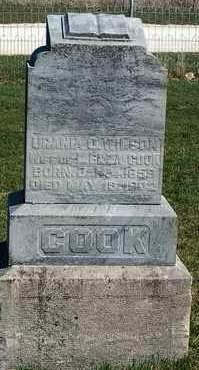 COOK, URANIA O. - Madison County, Iowa | URANIA O. COOK