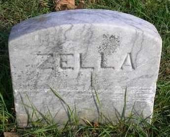 COOK, ZELLA M. - Madison County, Iowa   ZELLA M. COOK