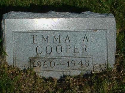 COOPER, EMMA A. - Madison County, Iowa | EMMA A. COOPER