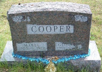 COOPER, MABEL DOROTHY - Madison County, Iowa | MABEL DOROTHY COOPER