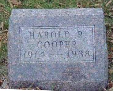 COOPER, HAROLD RUSSELL - Madison County, Iowa | HAROLD RUSSELL COOPER
