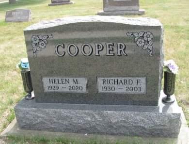 COOPER, RICHARD FRANKLIN - Madison County, Iowa | RICHARD FRANKLIN COOPER