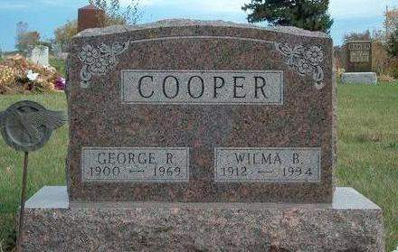 COOPER, GEORGE R. - Madison County, Iowa | GEORGE R. COOPER