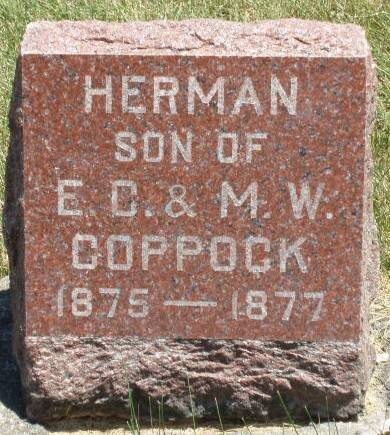 COPPOCK, HERMAN - Madison County, Iowa | HERMAN COPPOCK