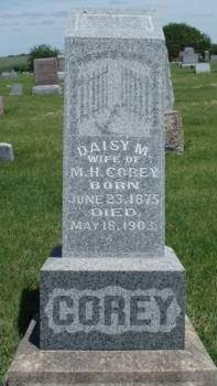 COREY, DAISY M. - Madison County, Iowa | DAISY M. COREY