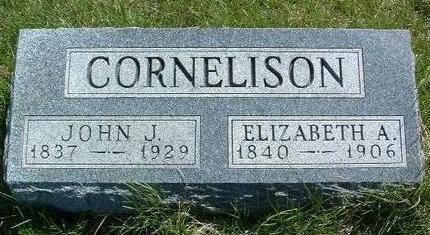 CORNELISON, JOHN J. - Madison County, Iowa | JOHN J. CORNELISON