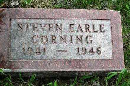 CORNING, STEVEN EARLE - Madison County, Iowa   STEVEN EARLE CORNING