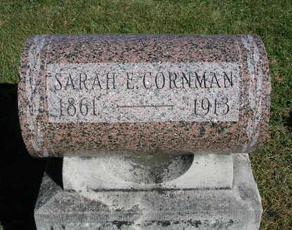 CORNMAN, SARAH E. - Madison County, Iowa | SARAH E. CORNMAN