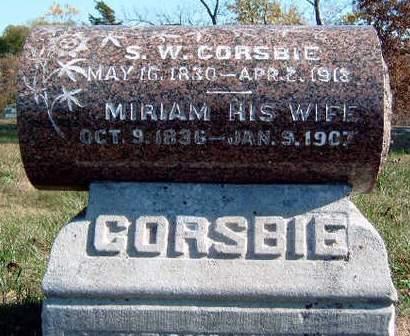CORSBIE, MIRIAM - Madison County, Iowa | MIRIAM CORSBIE