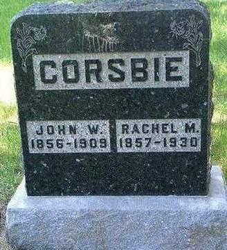 CORSBIE, RACHEL MATILDA - Madison County, Iowa | RACHEL MATILDA CORSBIE
