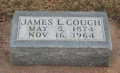 COUCH, JAMES LAWRENCE - Madison County, Iowa   JAMES LAWRENCE COUCH
