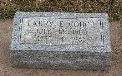 COUCH, LAWRENCE EARL - Madison County, Iowa   LAWRENCE EARL COUCH