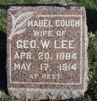 LEE, MABEL - Madison County, Iowa   MABEL LEE