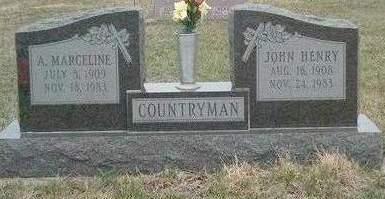 COUNTRYMAN, ALICE MARCELINE - Madison County, Iowa | ALICE MARCELINE COUNTRYMAN