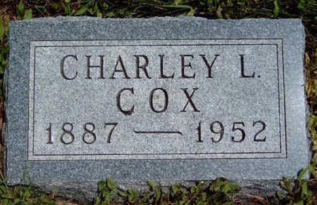 COX, CHARLEY L. - Madison County, Iowa | CHARLEY L. COX