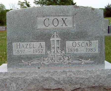 COX, HAZEL ANNA - Madison County, Iowa | HAZEL ANNA COX