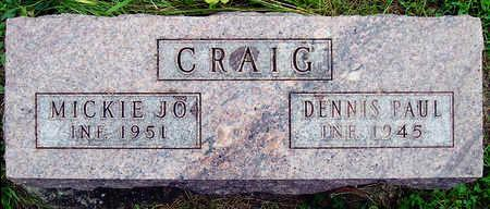 CRAIG, DENNIS PAUL - Madison County, Iowa | DENNIS PAUL CRAIG