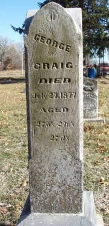 CRAIG, GEORGE - Madison County, Iowa | GEORGE CRAIG