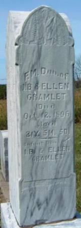 CRAMLET, FLORENCE M. - Madison County, Iowa | FLORENCE M. CRAMLET