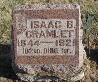 CRAMLET, ISAAC BEARD - Madison County, Iowa   ISAAC BEARD CRAMLET