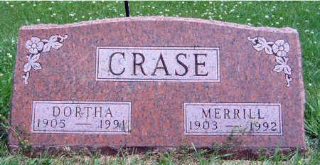 CRASE, DORTHA ANN - Madison County, Iowa   DORTHA ANN CRASE