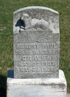 CRAVEN, ROBERT PAUL - Madison County, Iowa | ROBERT PAUL CRAVEN