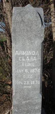 CRAWFORD, ARMINDA CLARA - Madison County, Iowa   ARMINDA CLARA CRAWFORD