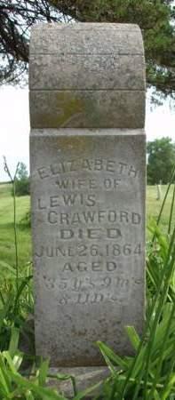 CRAWFORD, ELIZABETH - Madison County, Iowa   ELIZABETH CRAWFORD