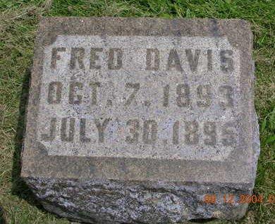 CRAWFORD, FRED DAVIS - Madison County, Iowa   FRED DAVIS CRAWFORD